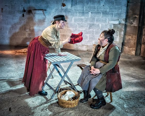 mother courage and her children review october 2018 bertolt brecht
