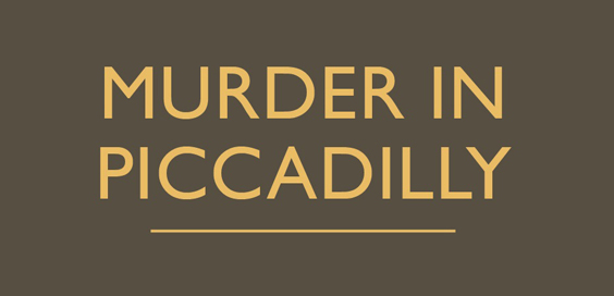 murder in piccadilly charles kingston book review logo
