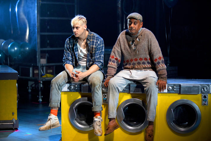 my beautiful laundrette review leeds playhouse october 2019 Jonny Fines