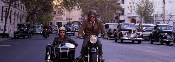 neruda film review motorbike