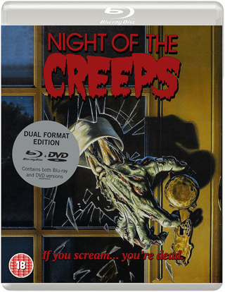 night of the creeps film review dvd bluray cover