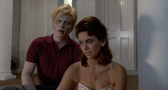 night of the creeps film review dvd bluray girl