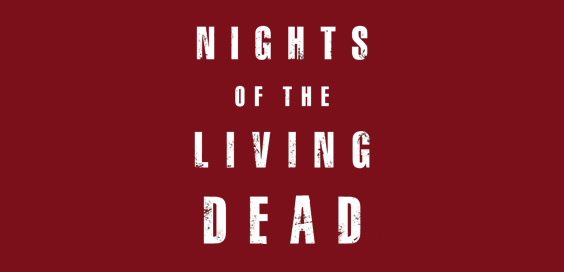 nights of the living dead George Romero book review logo