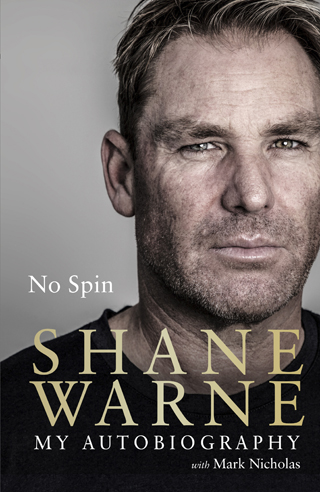 no spin autobiography shane warne book review cover