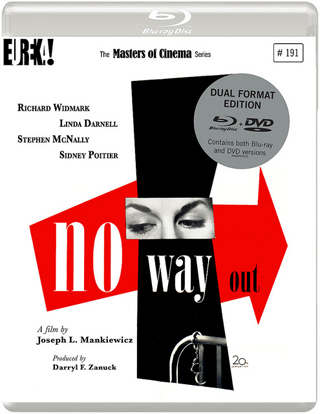 no way out 1950 film review cover bluray
