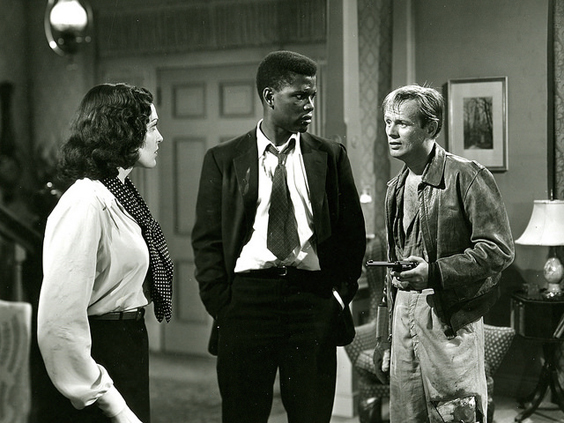 no way out 1950 film review sidney poitier