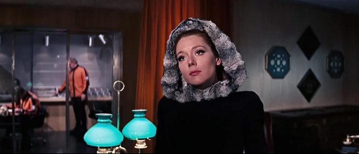 on her majesty's secret service film review rigg