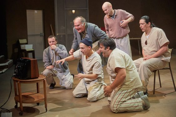 one flew over the cuckoo's nest review sheffield crucible june 2018 adaptation