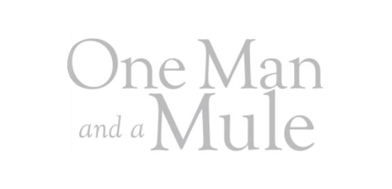 one man and a mule hugh thomson book review logo