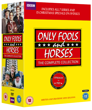 only fools and horses dvd complete collection review cover