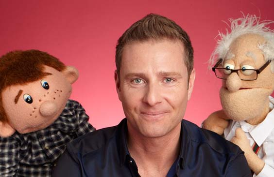 paul zerdin review lawrence batley theatre huddersfield september 2017 comedy