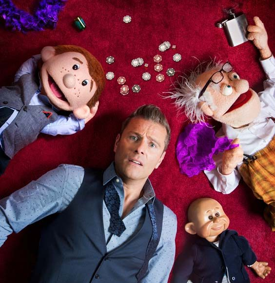 paul zerdin review lawrence batley theatre huddersfield september 2017 ventriloquist