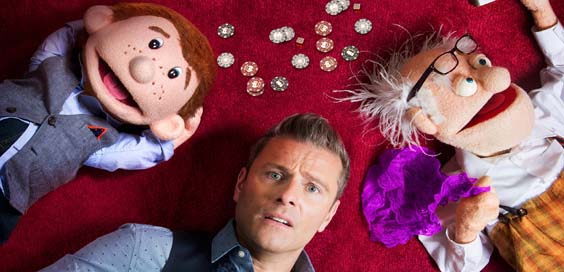 paul zerdin review lawrence batley theatre huddersfield september 2017