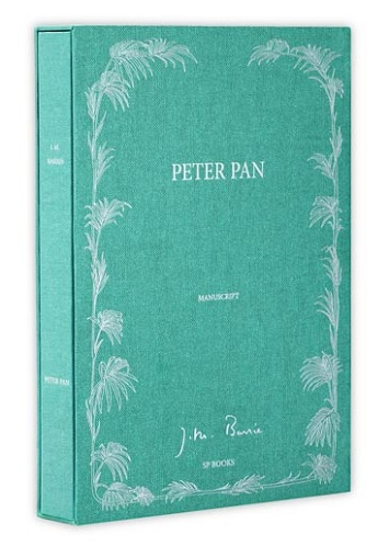 peter pan and wendy manuscript book review cover