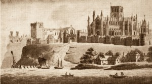 Whitby Abbey in 1320