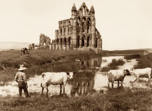 East Front, Whitby Abbey