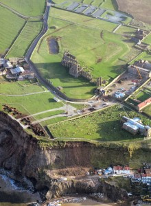The Abbey Headland from Above
