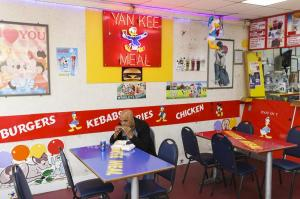 Yankee's Diner by Martin Parr