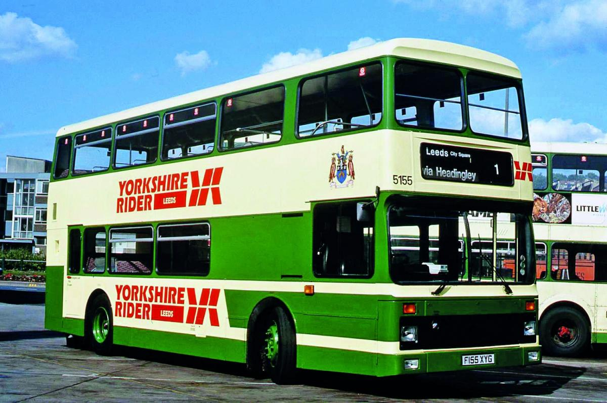 Yorkshire Rider Buses A History Scott Poole Gives An