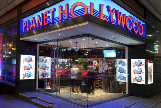 planet hollywood london restaurant review exterior