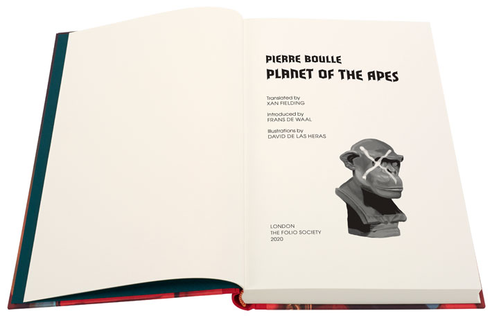planet of the apes folio society book review interior