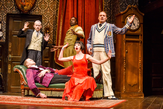 play that goes wrong review sheffield lyceum august 2018 farce