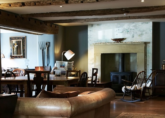 plough lupton lake district review dining room