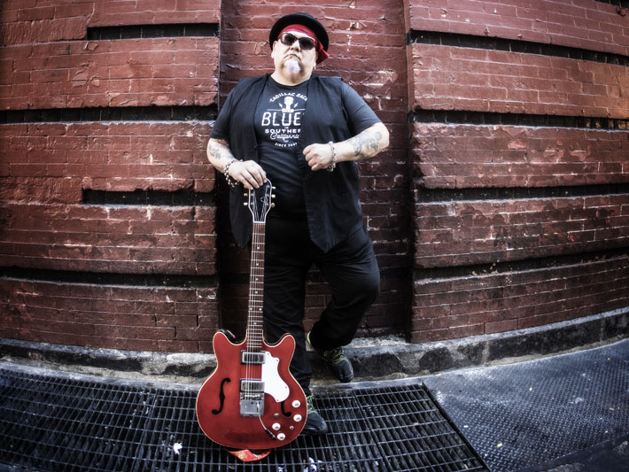 popa chubby live review leeds brudenell january 2020 blues