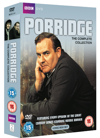 porridge the complete collection dvd review cover