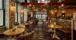 potting shed harrogate restaurant review interior