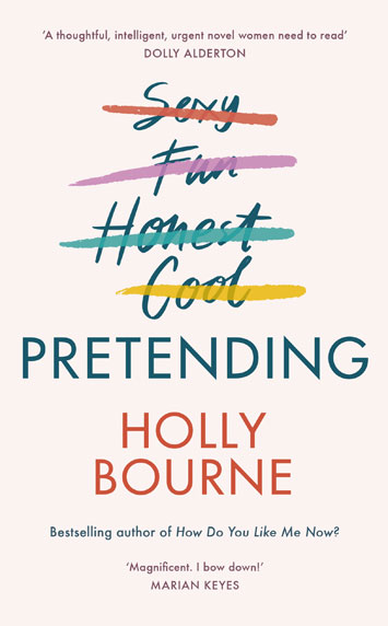 pretending holly bourne book review cover