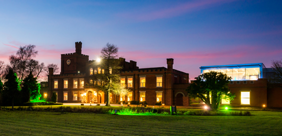 ragdale hall spa review exterior