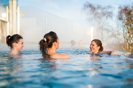 ragdale hall spa review infinity pool