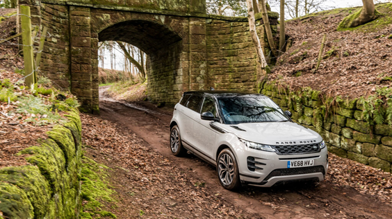 range rover evoque 2019 car review side