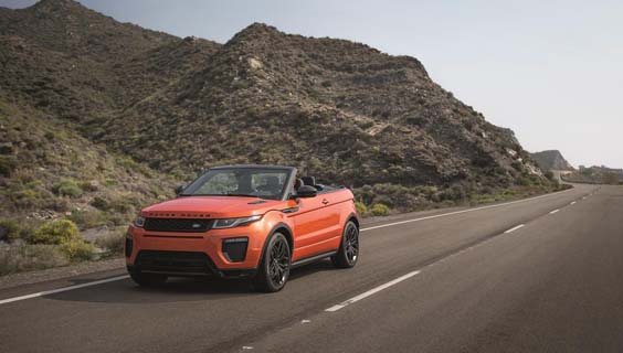 range rover evoque convertible review