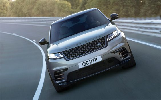 range rover velar car review front