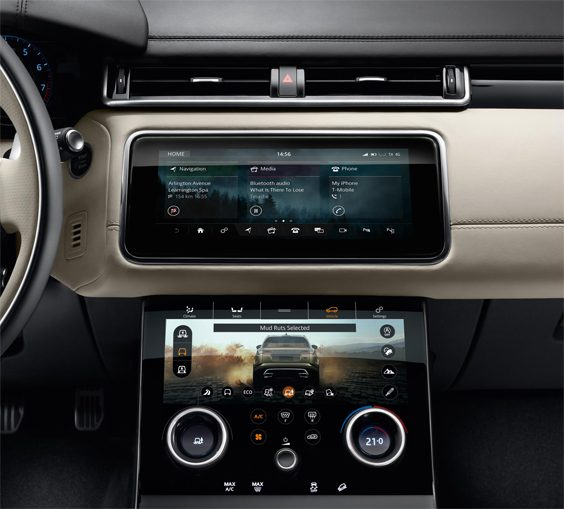 range rover velar car review interior