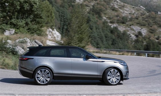 range rover velar car review side