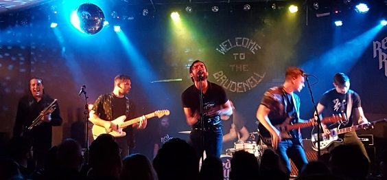 red rum club leeds brudenell march 2019 stage