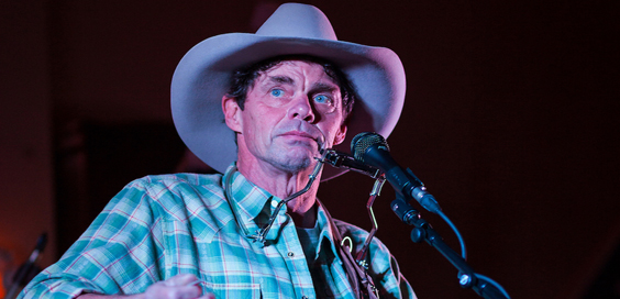 rich hall's hoedown comedy live review barnsley civic may 2018 hat