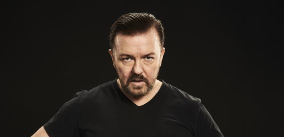 ricky gervais review sheffield city hall 2017