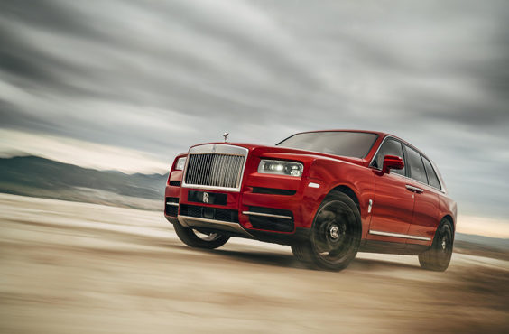 rolls-royce cullinan car review front