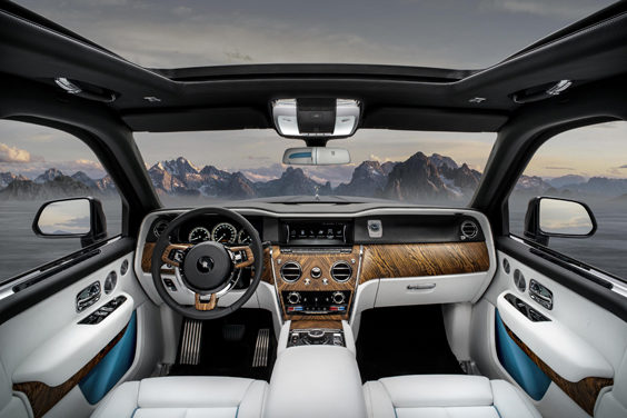 rolls-royce cullinan car review interior
