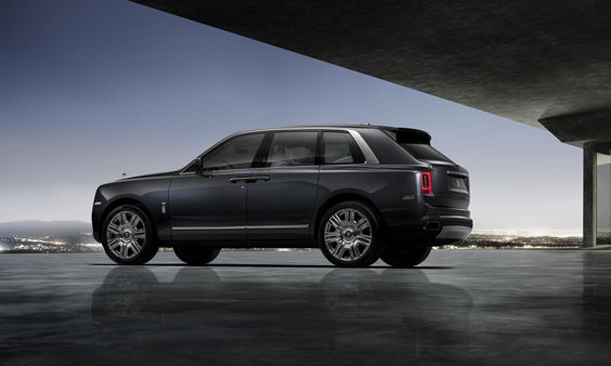 rolls-royce cullinan car review side