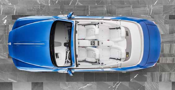 rolls-royce dawn review above