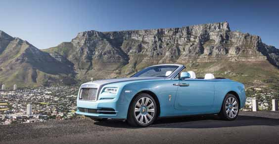 rolls royce dawn review front
