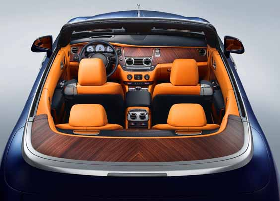 rolls-royce dawn review interior