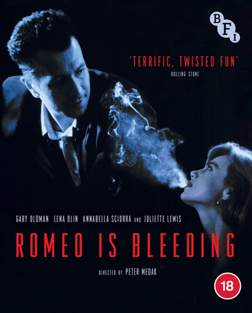 romeo is bleeding film review cover