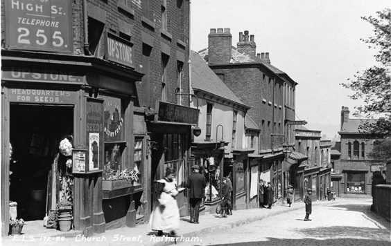 rotherham old photos postcards Church Street