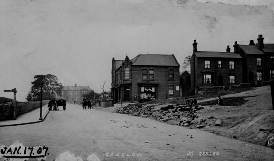 rotherham old photos postcards Cranklow
